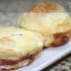 Cupcakes de Bacon e Ovo