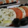 Salada de Tomate e Queijo Fresco