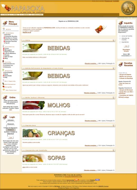 PAPAROKA.COM - O seu site de cozinha_Old