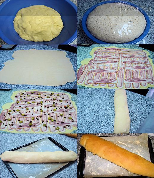 Preparação Pan de Jámon