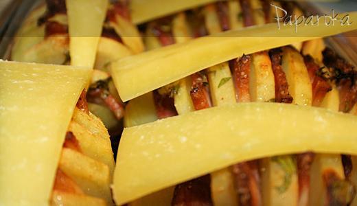 Batatas com Bacon