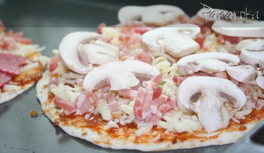 Pizza na Tortilha